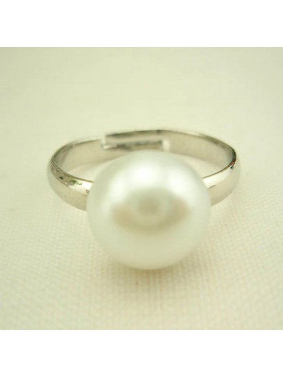 outfit Cute Pearl Ring For Women - AS THE PICTURE ONE SIZE