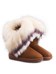 Faux Fur Snow Boots