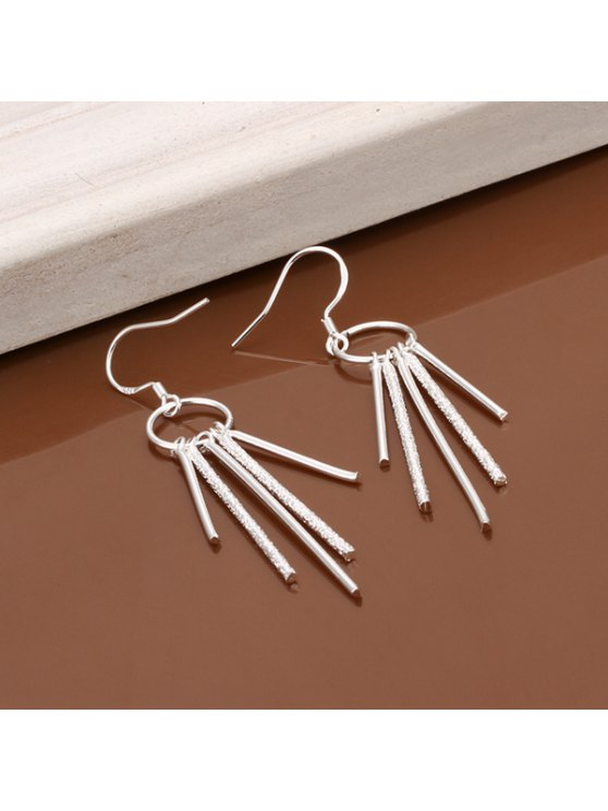 shops Pair Of Women's Five Pillars Of Earrings - LENGTH:5.7CM