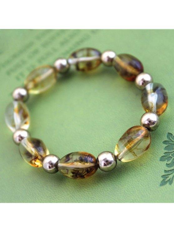 online Chic Women's Transparent Beads Bracelet - COLORMIX