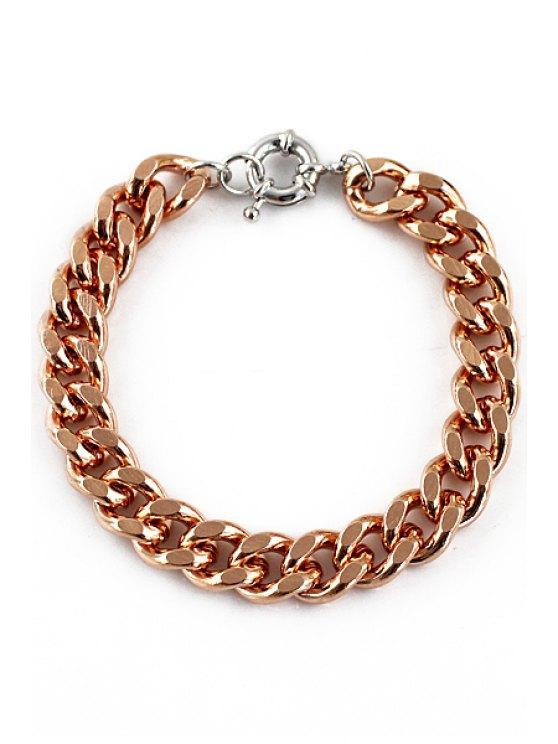 outfit Simple Solid Color Bracelet - GOLDEN