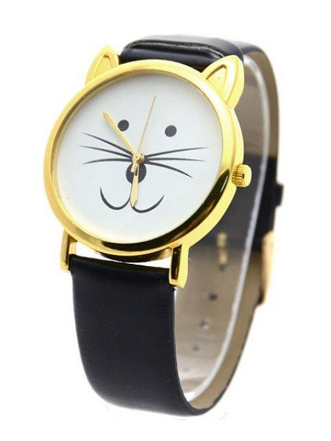 outfits Kitten Shape Watch - BLACK  Mobile