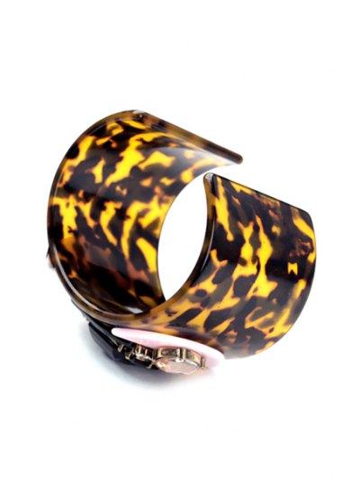 Faux Gem Leopard Print Bracelet от Zaful.com INT