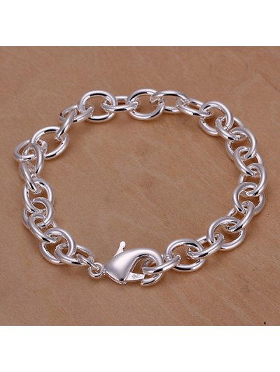 Stylish Thick Chain Shape Bracelet For Men от Zaful.com INT