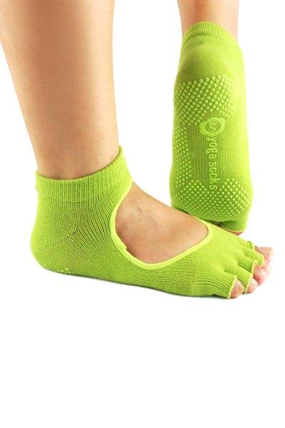 Hole Design Fingerless Yoga Socks
