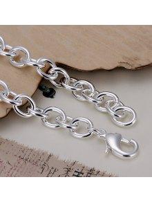Stylish Thick Chain Shape Bracelet For Men