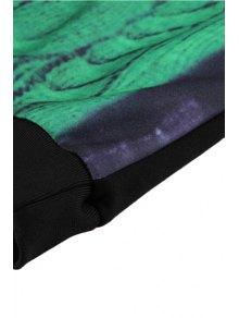 Chain Print Long Sleeve Dress