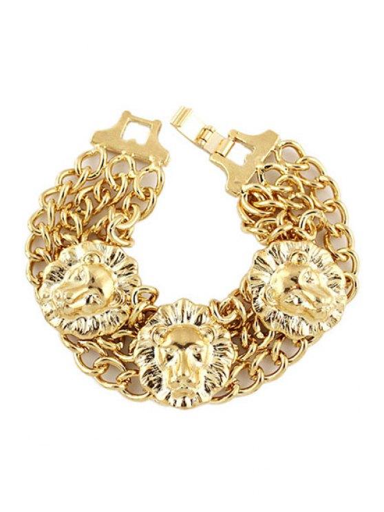 fashion Golden Layered Bracelet - GOLDEN