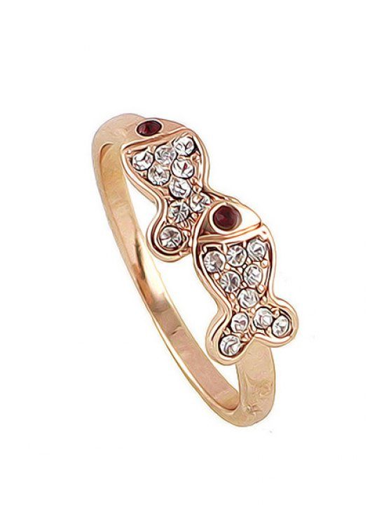 outfit Golden Fish Shape Ring - GOLDEN ONE-SIZE