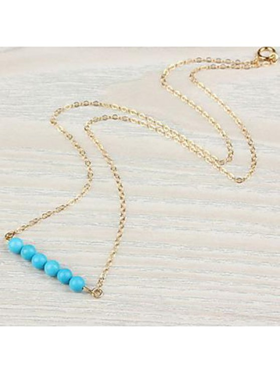 shop Chic Kallaite Embellished Pendant Women's Necklace - AS THE PICTURE