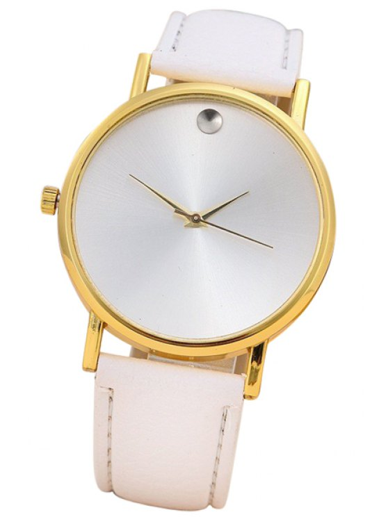 outfits PU Watch For Women - WHITE