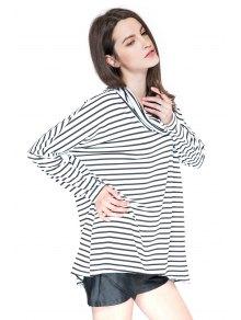 Striped Long Sleeve T-Shirt - STRIPE S