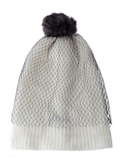 Pompon Design Veil Hat от Zaful.com INT
