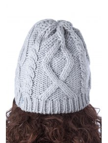 Beading Bowknot Knitted Hat