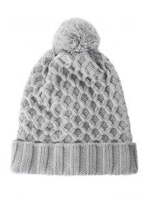 Ball Design Reticular Pattern Hat