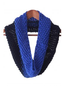 Color Block Knitted Neck Warmer