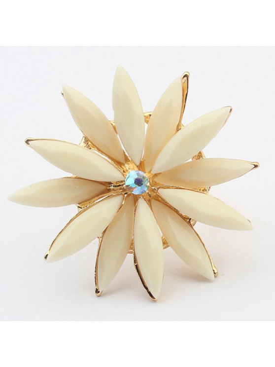 hot Sweet Double-Layered Floral Ring For Women - RANDOM COLOR ONE-SIZE