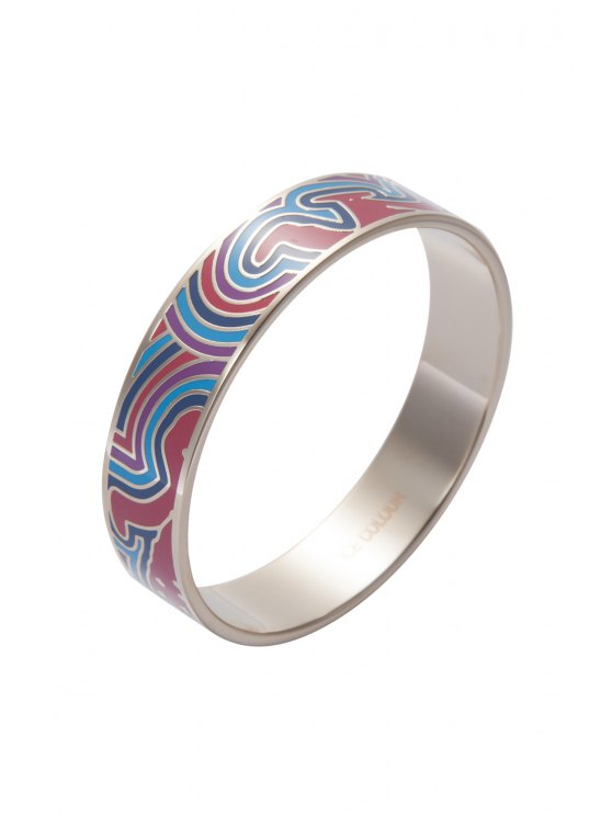 chic Chic Round Printed Bracelet - COLORMIX