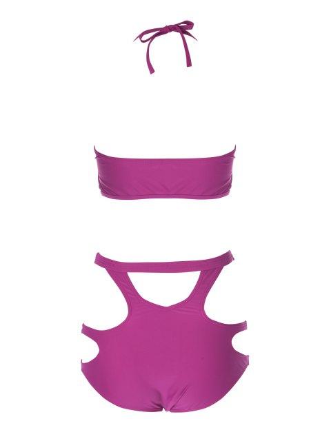 Bretelles spaghetti creux Bikini - Plume L Mobile