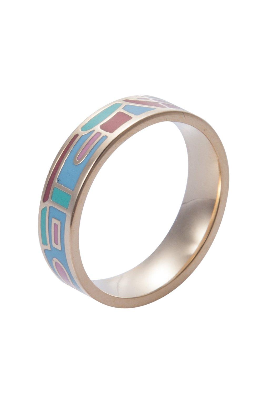 Round Printed Ring