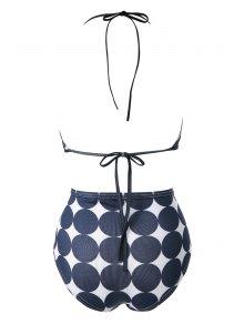 Polka Dot Print Bikini Set