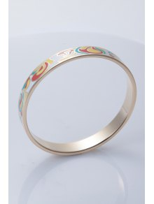 Circle Shape Pattern Decorated Chic Bracelet - COLORMIX