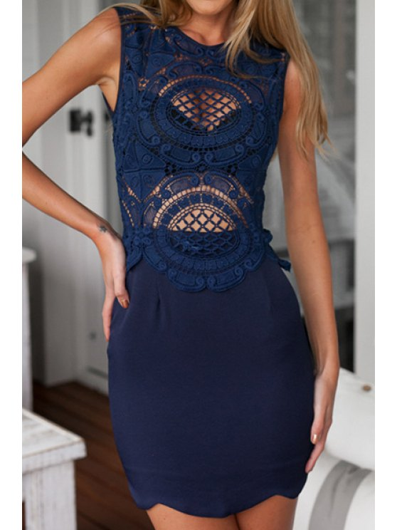 shops Cruel Intention Dress - CADETBLUE S