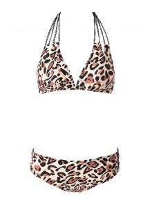 Leopard Pattern Bikini Set