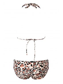 Leopard Pattern Bikini Set - LEOPARD S