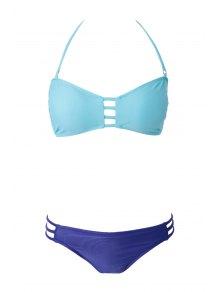 Openwork Bandage Bikini Set