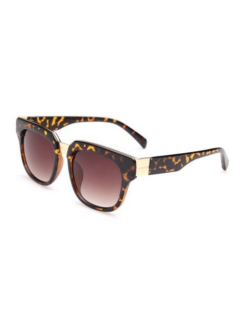 hot Leopard Pattern Full Frame Sunglasses -   Mobile