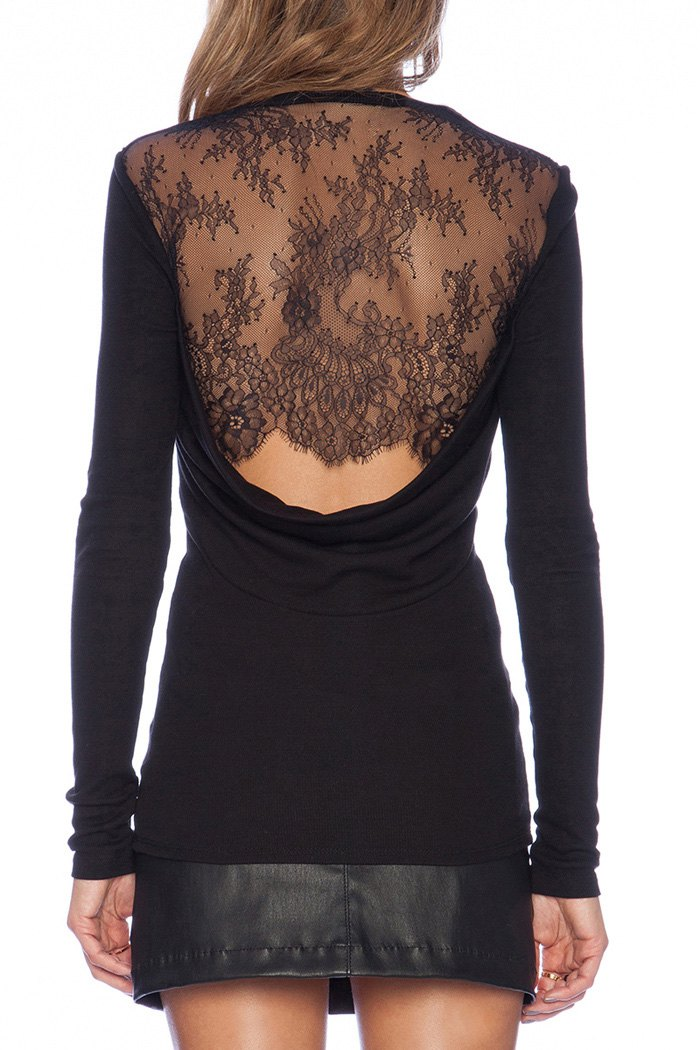 Find black lace long sleeve shirt at ShopStyle. Shop the latest collection of black lace long sleeve shirt from the most popular stores - all in one.