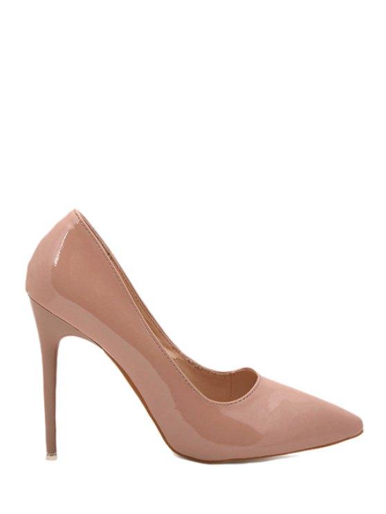 chic Stiletto Heel Sexy High Heel Pumps - NUDE 35