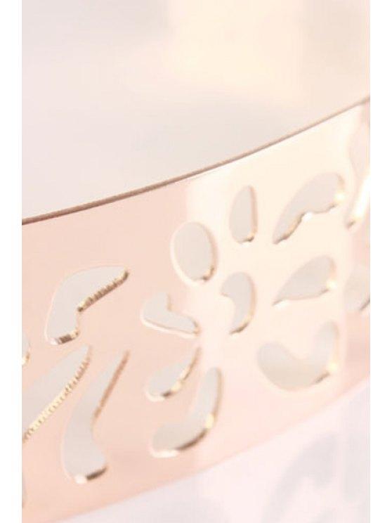 Tassel Pendant Alloy Waistband - ROSE GOLD  Mobile