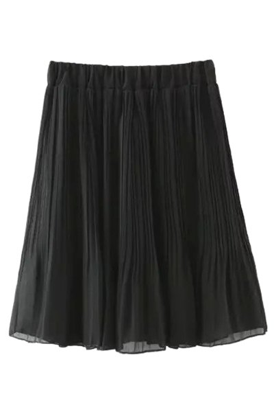 Elastic Waisted Skirt 69