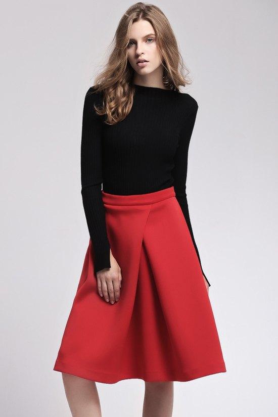 solid color ruffle midi skirt skirts zaful