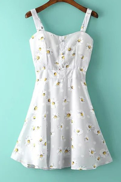 Flower Print Sundress
