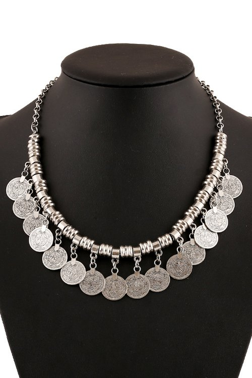 Chic Coin Pendant Necklace For Women