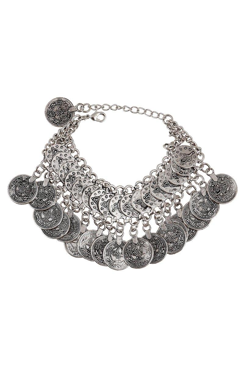 Bohemia Coin Pendant Bracelet For Women
