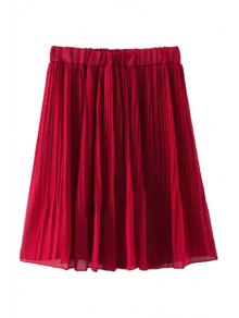 Elastic Waisted Skirt 106