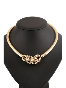 Splicing Circle Necklace