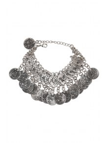 Coin Pendant Bracelet