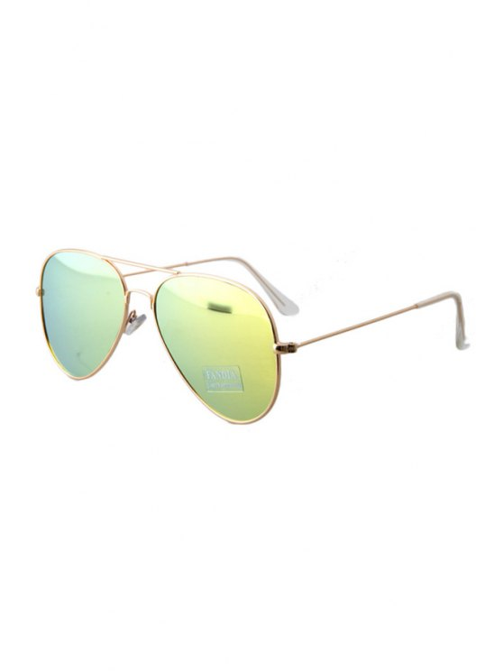 Golden Full Frame Sunglasses - Amarillo