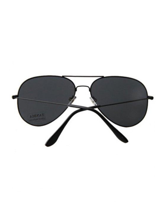 Black Full Frame Sunglasses - BLACK  Mobile