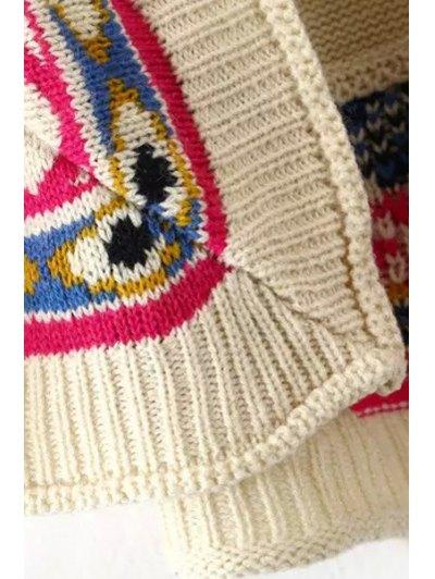 Tribal Pattern 3/4 Sleeve Cardigan от Zaful.com INT