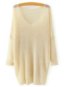 Pure Color Loose Long Sleeve Sweater