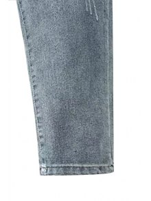 Narrow Feet Bleach Wash Jeans