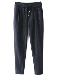 Tie-Up Stripe Pants