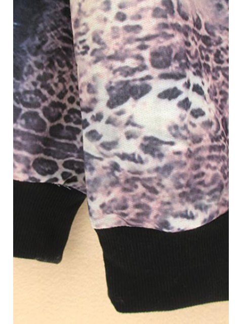 hot Tiger Head Print Sweatshirt - COLORMIX XL Mobile