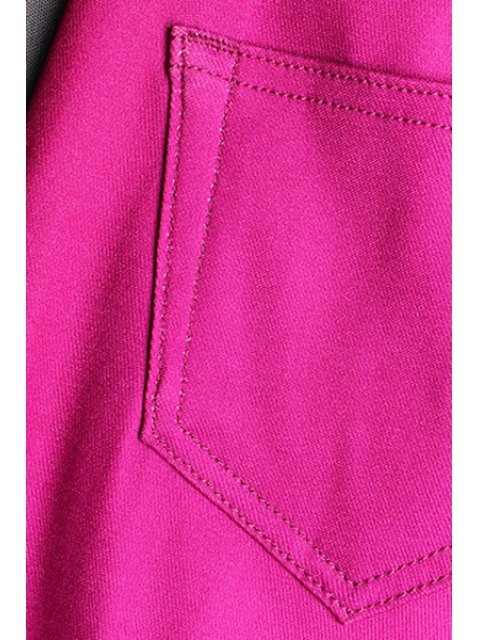 womens Ombre Color Narrow Feet Pants - YELLOW L Mobile